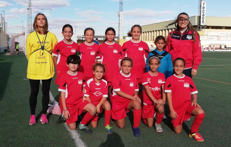 Utrera acoge una jornada provincial de fútbol femenino alevín de la federación andaluza