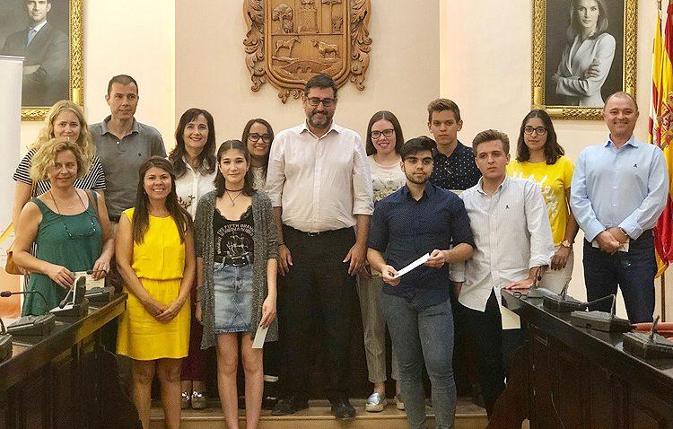Reconocimiento municipal a los mejores expedientes de 2º de Bachillerato