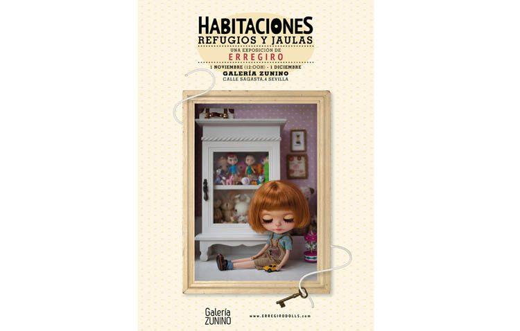 «Habitaciones, refugios y jaulas», nueva exposición del utrerano Rafael Rodríguez Girona