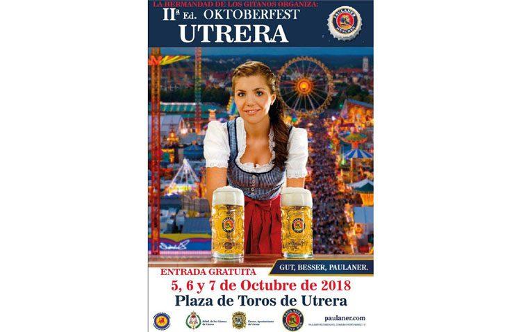La fiesta de la cerveza «Oktoberfest» regresa a Utrera de la mano de la hermandad de los Gitanos