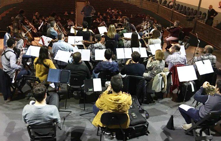 Una original manera para acercar la música clásica a los escolares de Utrera