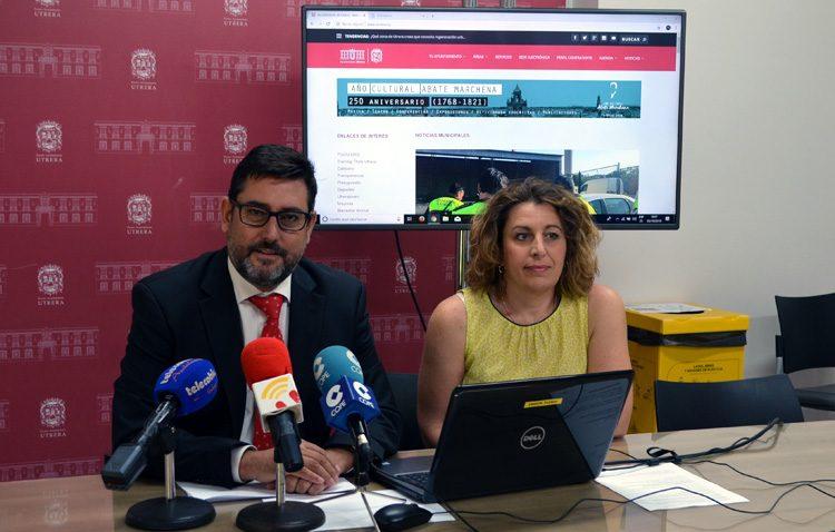 El Ayuntamiento de Utrera estrena una página web que permite realizar numerosos trámites administrativos