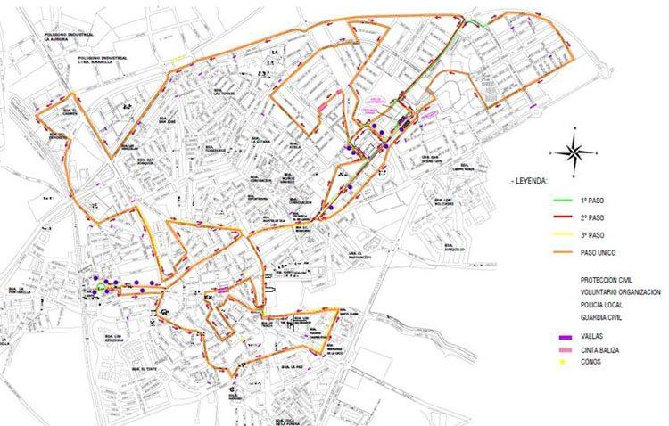 El Ayuntamiento de Utrera anuncia un nuevo recorrido para la media maratón con cortes y prohibición de aparcamientos