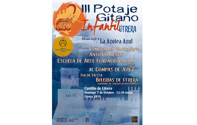 El Potaje Gitano Infantil llega al castillo de Utrera con los nuevos valores del flamenco