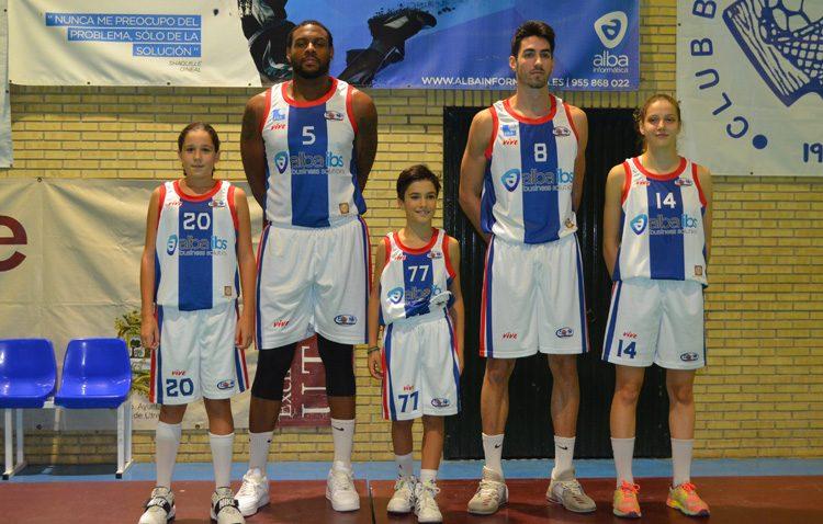 El Club Baloncesto Utrera presenta las nuevas equipaciones