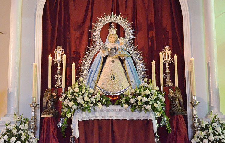 Cultos en honor a la Virgen de Consolación en Trajano
