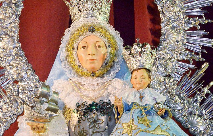 Procesión extraordinaria de la Virgen de Consolación en Trajano