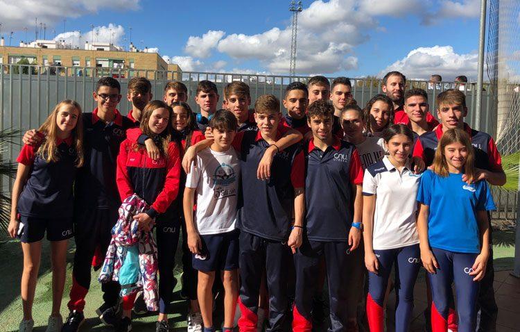 Éxito para la natación Utrera en el trofeo «Ntra. Sra. del Águila» de Alcalá de Guadaíra