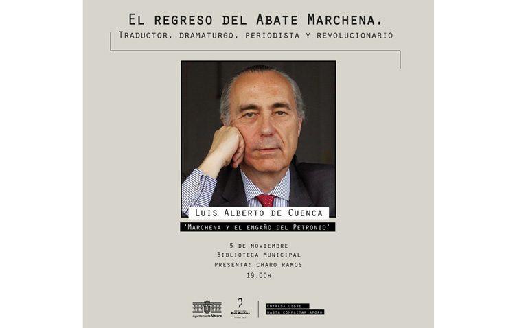 «Marchena y el engaño del Petronio», nueva conferencia en la biblioteca municipal de Utrera