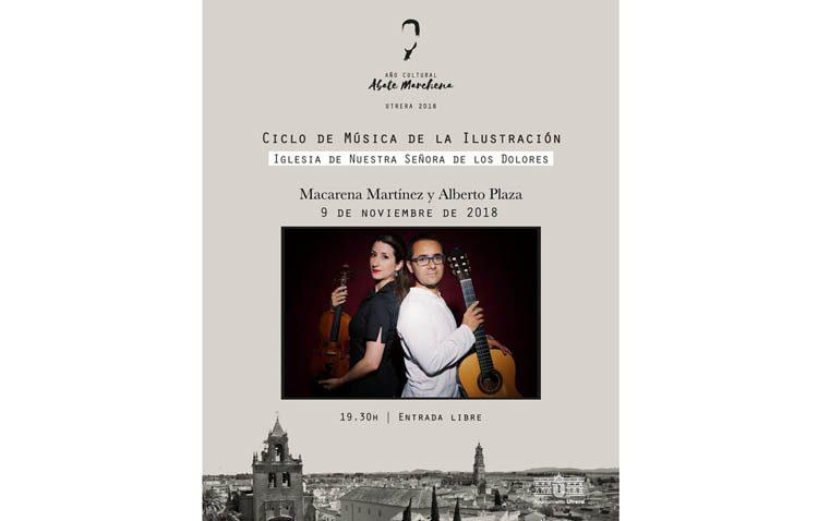 Un recital de violín y guitarra en la iglesia de las Hermanas de la Cruz con motivo del año cultural del Abate Marchena