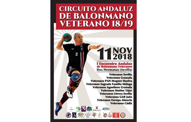Utrera participa en el circuito andaluz de balonmano veterano