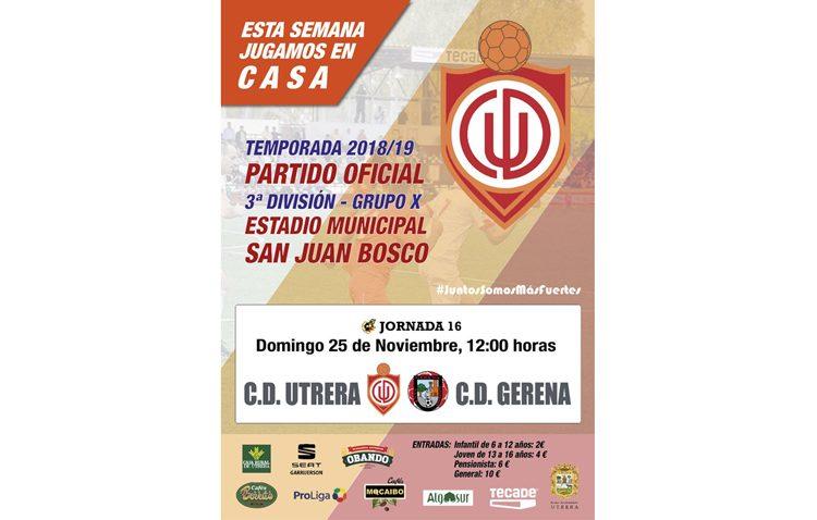 C.D. UTRERA – C.D. GERENA: Una victoria para mantener el rumbo