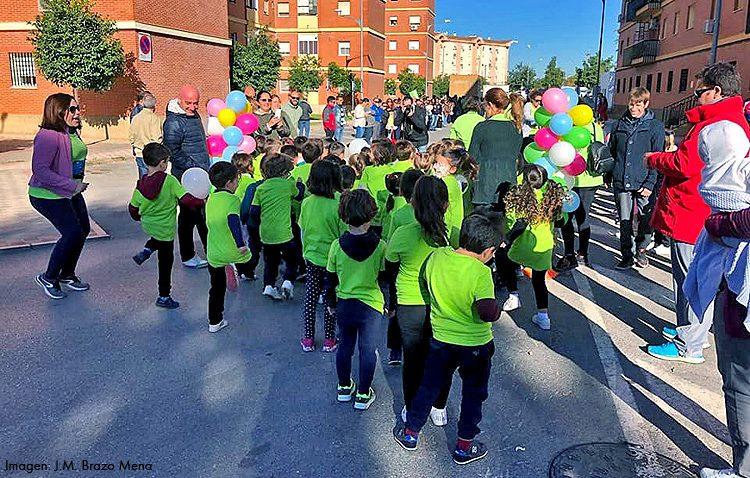 Una carrera en el colegio Alfonso de Orleans para recaudar fondos destinados a la investigación de la leucemia infantil