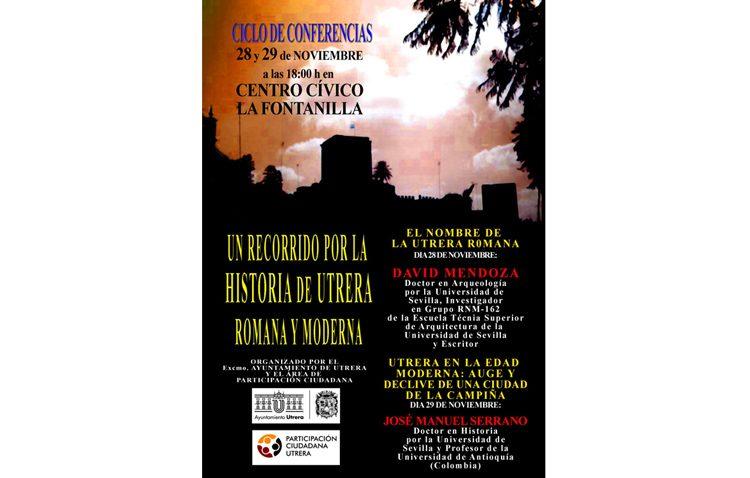 Un ciclo de conferencias sobre la historia moderna de Utrera