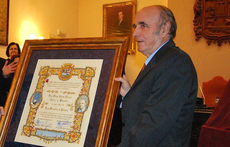 Fallece a los 73 años el pintor y profesor Diego Neyra