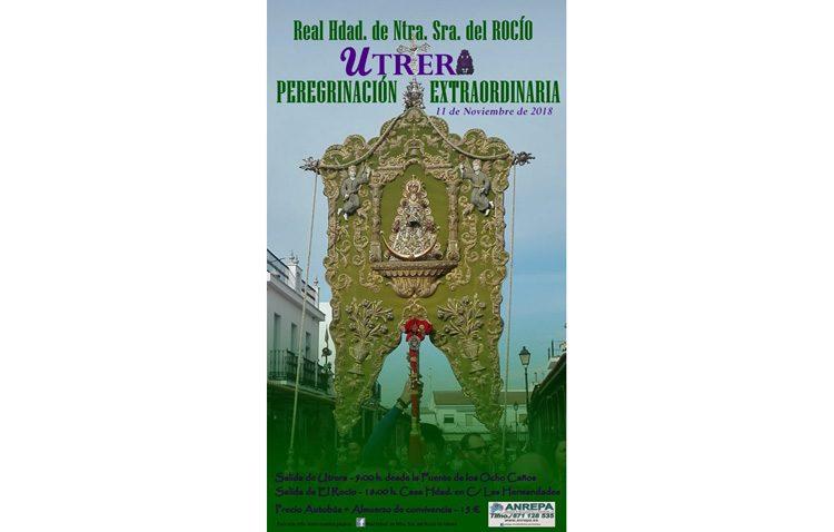 La hermandad del Rocío de Utrera organiza un año más su peregrinación extraordinaria a la aldea