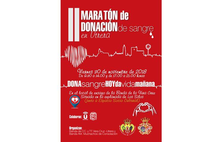 Jornada solidaria en Utrera con el maratón de donación de sangre en Los Silos