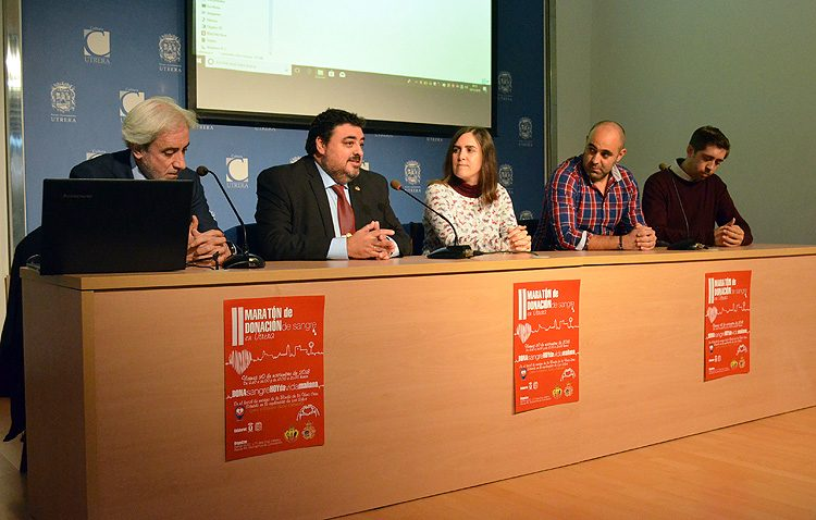 El maratón de donación de sangre vuelve a Utrera tras el éxito de su estreno