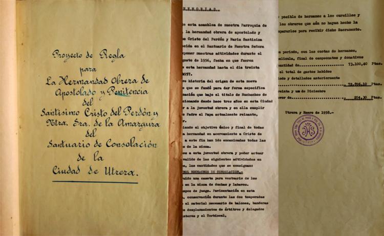 La hermandad de los Muchachos de Consolación recupera el primitivo proyecto de sus reglas gracias a la Guardia Civil