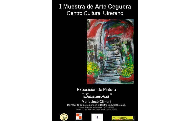 Una «muestra de arte ceguera» a cargo de la utrerana María José Climent