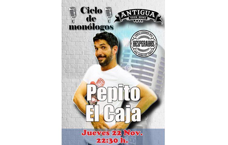 El humorista Pepito «el Caja» llega a Utrera para ofrecer un monólogo en La Antigua