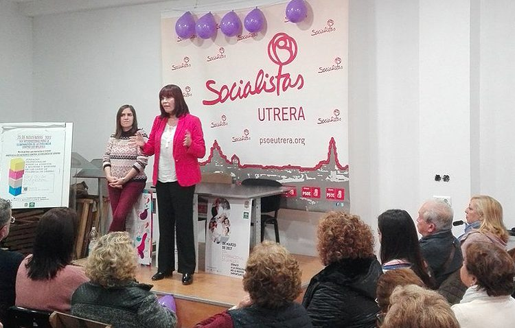 Satisfacción en el PSOE por el acto de Micaela Navarro sobre feminismo e igualdad