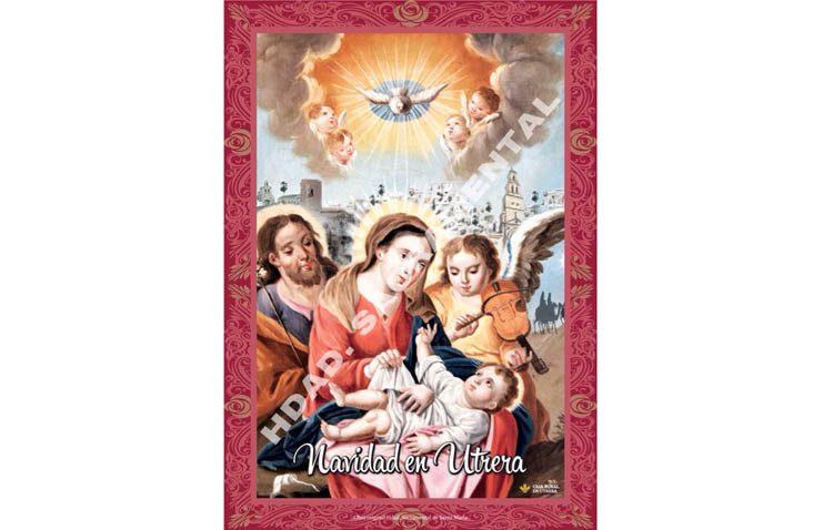 Unas colgaduras navideñas para colaborar con la recuperación del patrimonio de la hermandad sacramental de Santa María