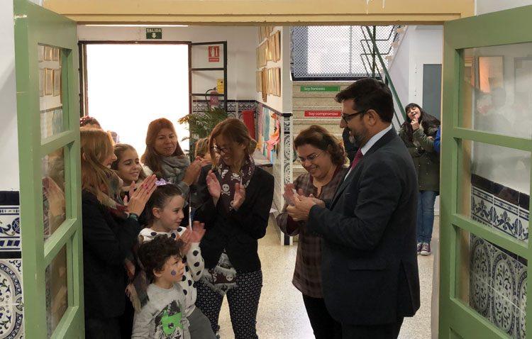 El colegio Alfonso de Orleans estrena su reclamado comedor escolar