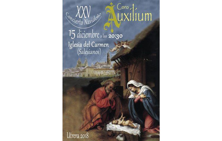 Concierto navideño del coro Auxilium en la iglesia del Carmen