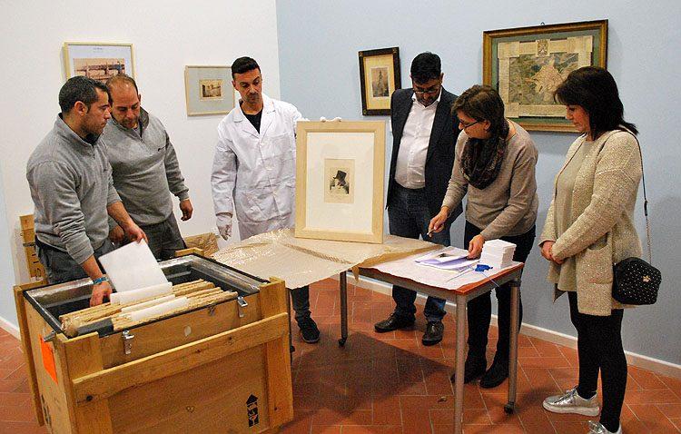 Una exposición por «Los viajes del Abate Marchena» con 10 grabados de Goya