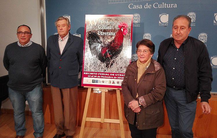 Una granja experimental de la gallina utrerana culminará la consolidación de la raza y comercializará sus productos