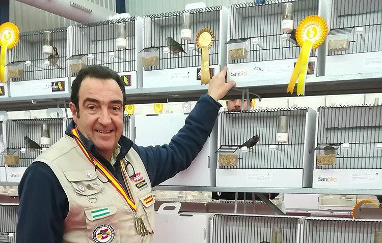 Un nuevo triunfo utrerano en el campeonato de España de ornitología