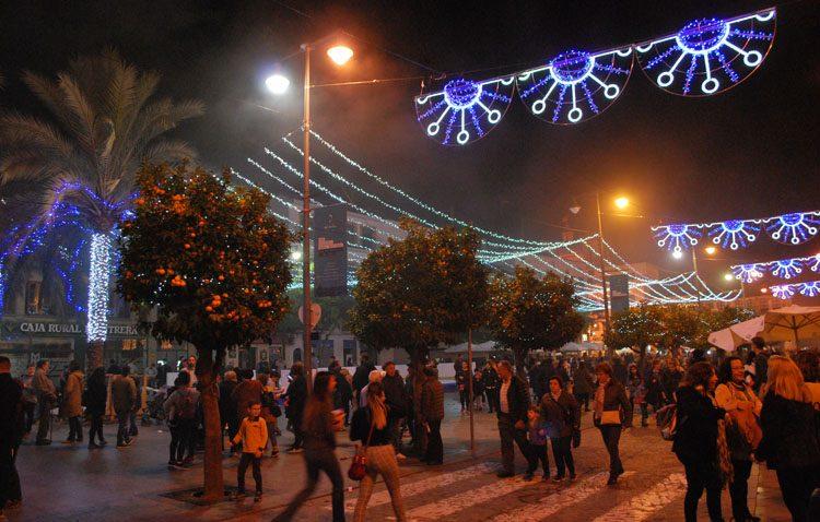 Los comerciantes utreranos, satisfechos con la campaña navideña (AUDIO)