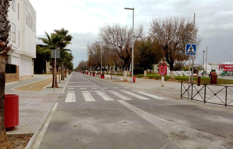 El paseo de Consolación reabre por completo al tráfico y cerrará los fines de semana «para uso y disfrute de los peatones»