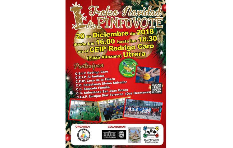 Utrera acoge el I trofeo navideño del pinfuvote «Ciudad de Utrera»