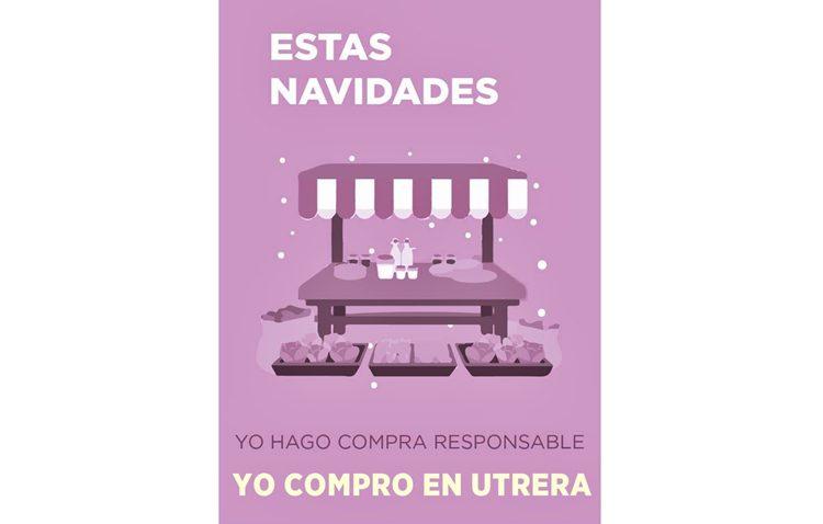 Una campaña de Podemos para «relanzar el comercio de Utrera de cara a estas fiestas navideñas»