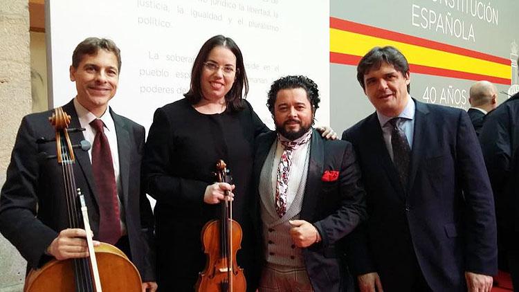 El cante de Rafael de Utrera, presente en Madrid por el 40º aniversario de la Constitución Española