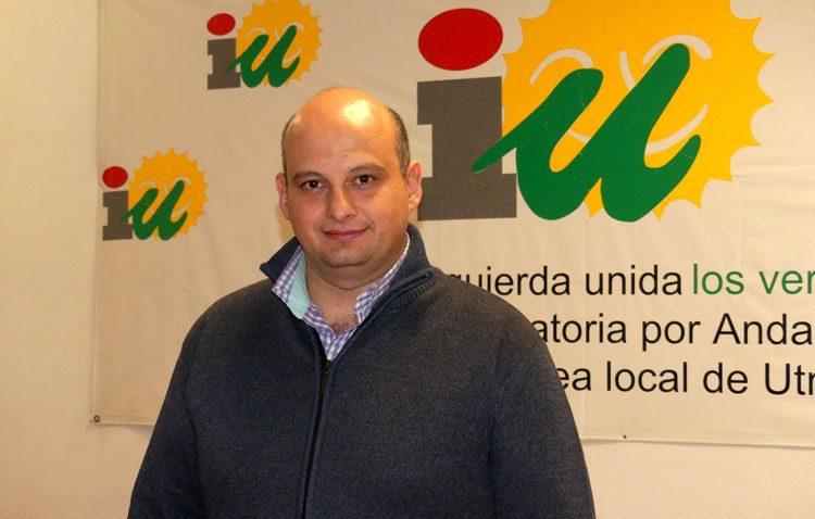 Raúl Monge, candidato de IU a las elecciones municipales a falta de la posible confluencia con Podemos