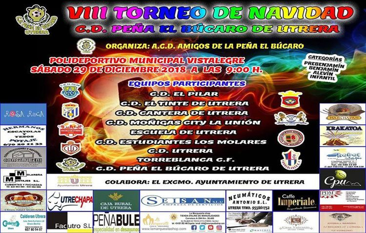 VIII torneo navideño del C.D. Peña el Búcaro de Utrera