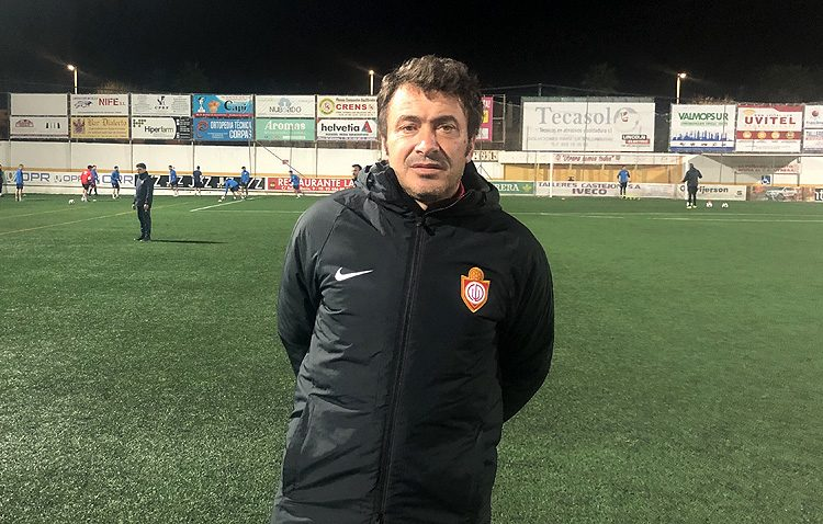 El técnico del C.D. Utrera, principal candidato al banquillo del Córdoba B