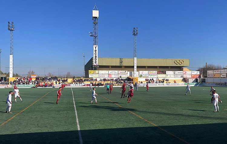C.D. UTRERA 1 – 0 CÓRDOBA B: A un punto del liderato