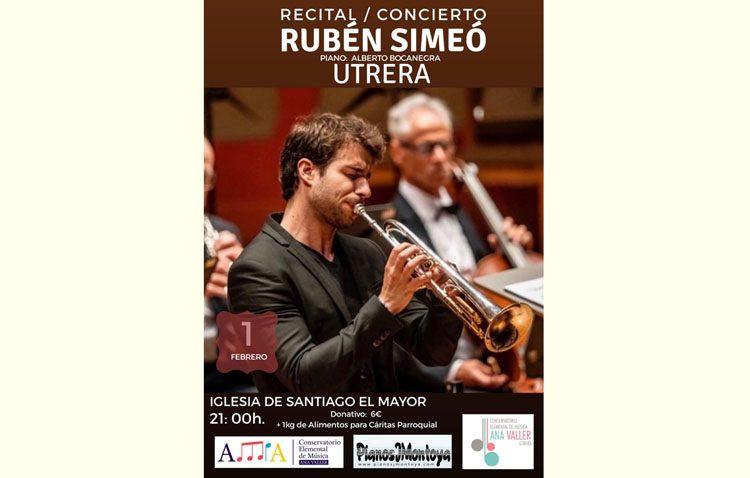Un concierto de trompeta y piano en la parroquia de Santiago