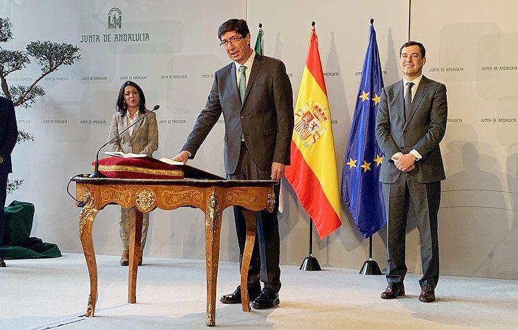 Ciudadanos Utrera se muestran «muy satisfechos y esperanzados» por el cambio de gobierno en Andalucía