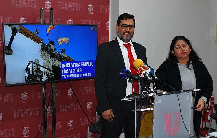 El alcalde de Utrera cifra en 11 millones de euros el impacto económico del nuevo plan de empleo de la Junta de Andalucía