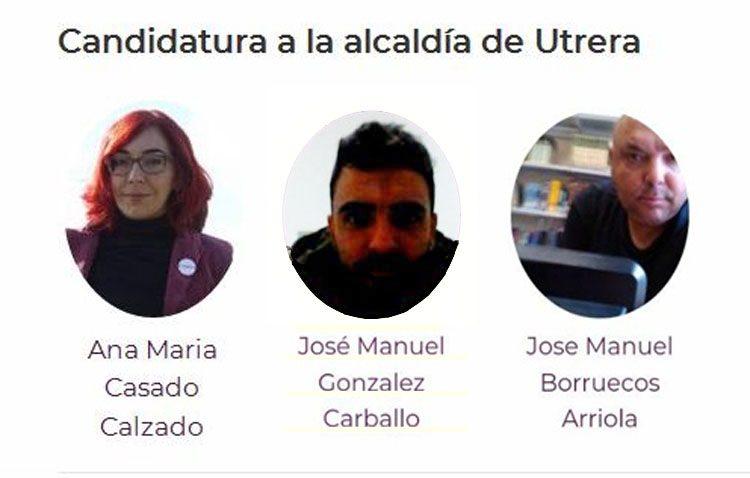 Podemos Utrera inicia su proceso de primarias de cara a las elecciones municipales