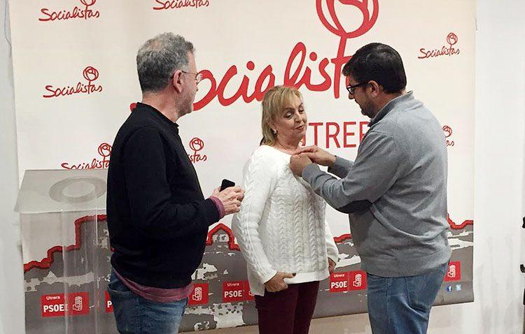 El PSOE de Utrera rinde homenaje a su «histórica militante» María Jesús Cortés Benavides
