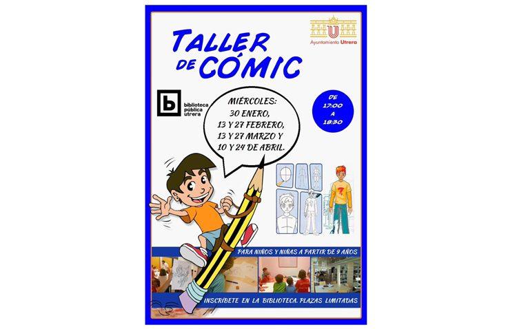 Una nueva edición del taller de cómic llega a la biblioteca de Utrera