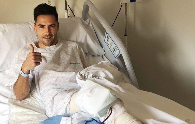 «Tengo un reto: volver a estar como antes de la lesión»