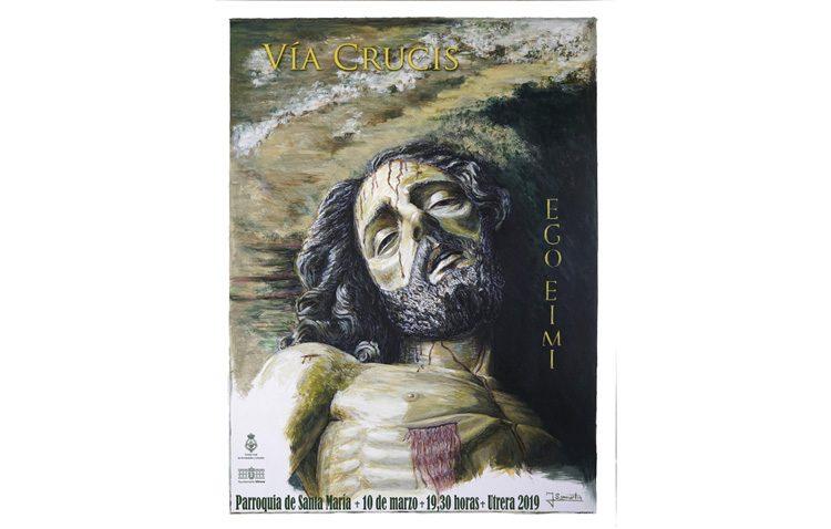 Traslado del Cristo Yacente a Santa María, con motivo del vía crucis del Consejo