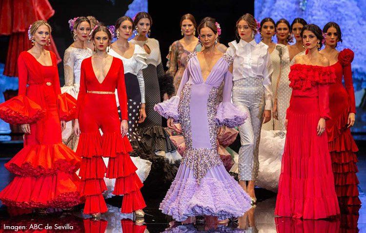 La utrerana Consolación Ayala lleva su nueva colección flamenca a Simof